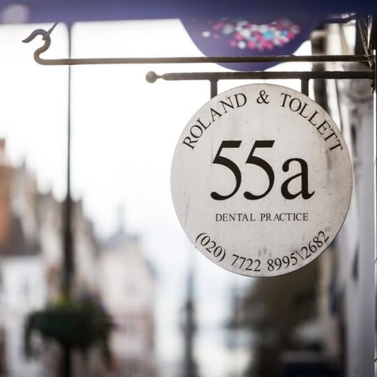 fifty-five-a-dental london 7 fees payments